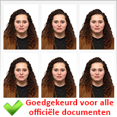 Pasfoto's officiele documenten